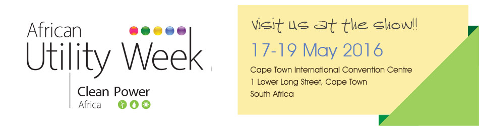 See you at African Utility Week 2016