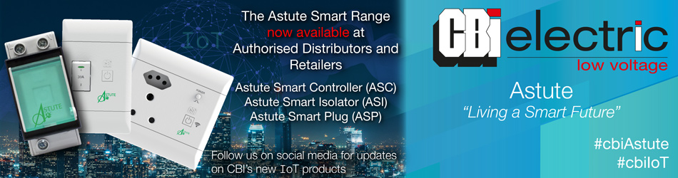 The CBI Astute Range is now available at distributors and retailers