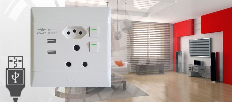 cbielectric launches new socket outlet with integral usb ports