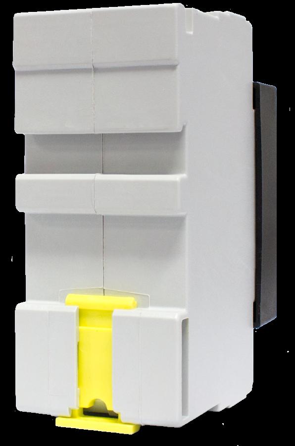 CBI Astute Smart Controller (ASC) back angle Mini and DIN mount