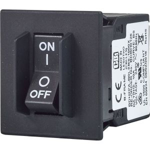 B-frame Circuit Breaker for Equipment rocker handle with handle guard single pole